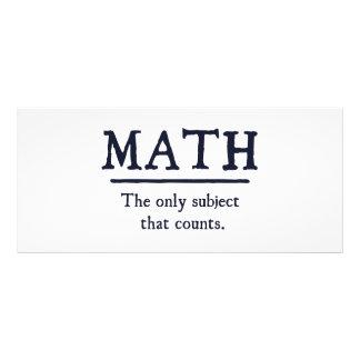 Matemática o único assunto que conta 10.16 x 22.86cm panfleto