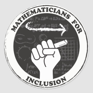 Matemáticos para etiquetas da inclusão