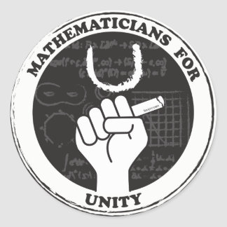 Matemáticos para etiquetas da unidade