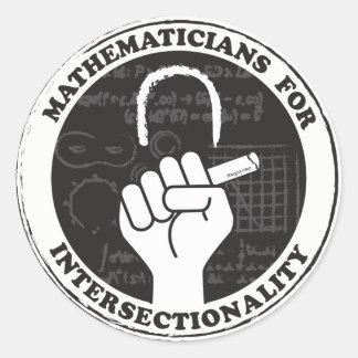 Matemáticos para etiquetas de Intersectionality