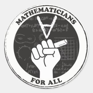 Matemáticos para todas as etiquetas