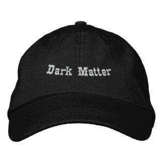 Matéria escura boné bordado