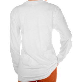 Material do casamento, camiseta longa branca da