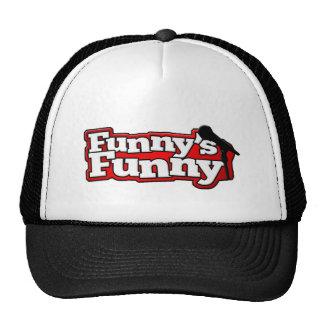 Material engraçado engraçado do logotipo boné