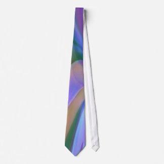 Matiz do arco-íris de azul, do roxo e do verde gravata