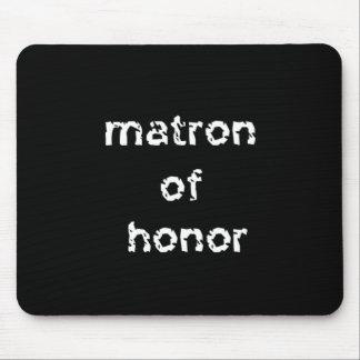 Matrona da honra mouse pad