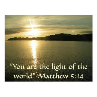 Matthew 5: Cartão 14 Cartão Postal