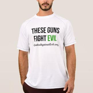 Mau da luta destas armas camisas sem manga