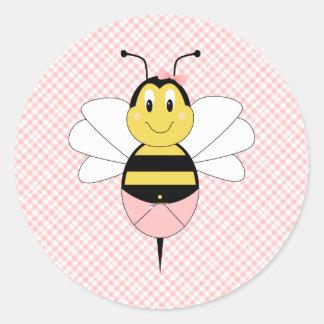 MayBee Bumble a etiqueta da abelha Adesivo