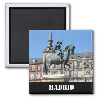 Mayor da plaza, ímã de Madrid Ímã Quadrado