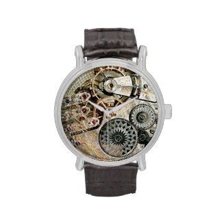 Mecanismo antigo do relógio