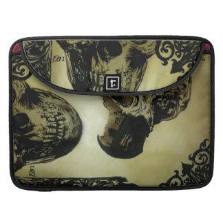"MED do Victorian. Crânios Pop Macbook pro 15"" Bolsa MacBook Pro"