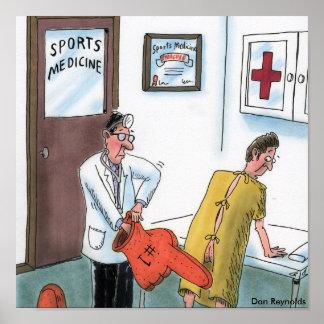 Medicina de esportes do poster   de Dan Reynolds   Pôster