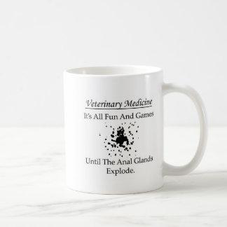 Medicina veterinária - é todo o divertimento e caneca de café