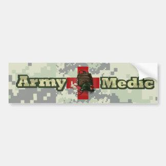 Médico do exército adesivo para carro
