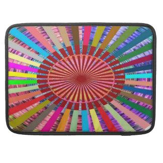 Meditação da fonte luminosa de CHAKRA Bolsa Para MacBook Pro