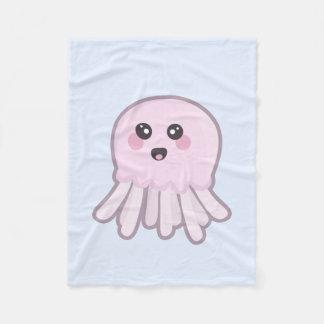 Medusa de Kawaii Cobertor De Lã