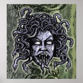 Medusa Gorgon Poster