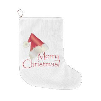 Meia De Natal Grande Natal do ouro branco