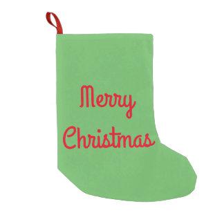 Meia De Natal Pequena Estoque do Feliz Natal