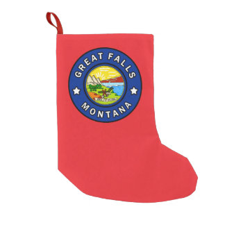 Meia De Natal Pequena Great Falls Montana