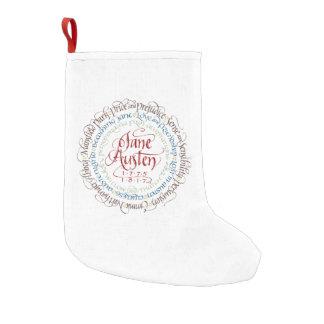 Meia De Natal Pequena Meia do Natal - dramas de período de Jane Austen