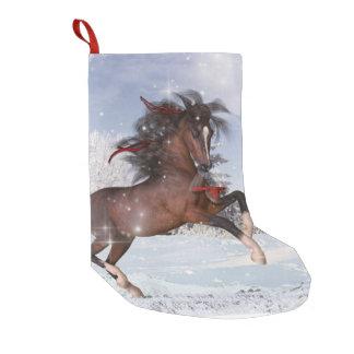 Meia do cavalo do feriado do Natal Meia De Natal Pequena