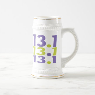 meia maratona 13,1 caneca de cerveja