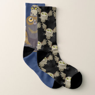 meias Mis-combinadas da coruja