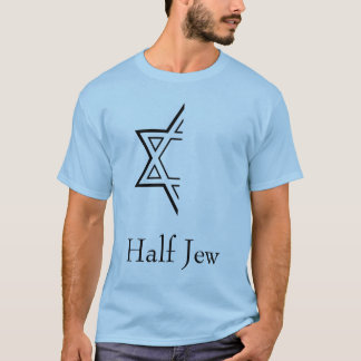 Meio judeu t-shirt