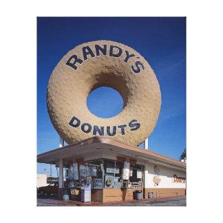 Meio século de Califórnia das rosquinhas de Randy Impressão Em Tela