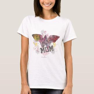Meios mistos da mamã da maravilha camisetas