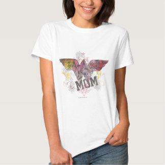 Meios mistos da mamã da maravilha tshirt