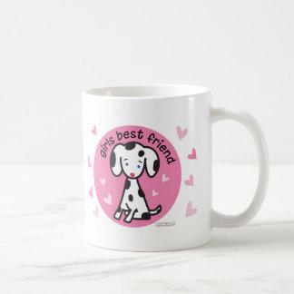 melhor amigo das meninas caneca de café
