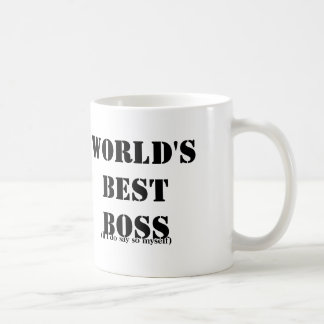 Melhor chefe independente canecas