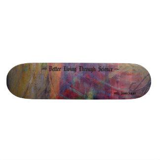 Melhor vida com a ciência shape de skate 18,4cm