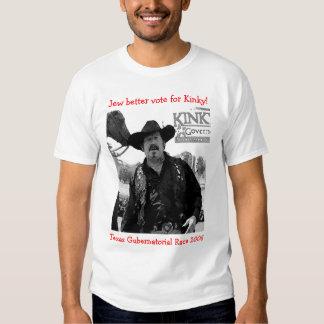 Melhor voto do judeu para Kinky! T-shirts