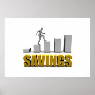 Melhore seu economias ou processo de negócio como poster