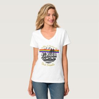 Melhores amigos de Nova Escócia Halifax Dartmouth Camiseta