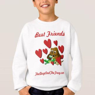 melhores amigos do sapo do cão dos presentes de camisetas