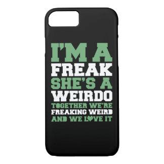 Melhores amigos estranhos de Freakin Capa iPhone 7