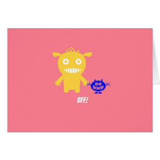 Melhores amigos para sempre cartão comemorativo