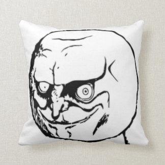 Meme sim cómico travesseiro de decoração