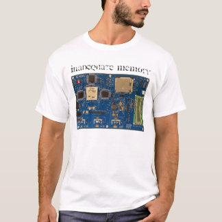 Memória inadequada 2 camisetas