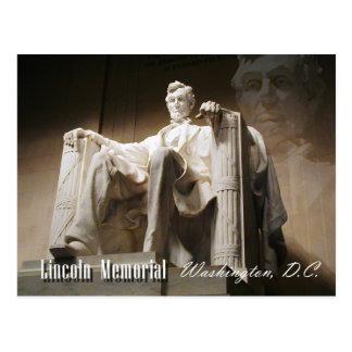 Memorial de Lincoln, Washington, C.C. Cartão Postal