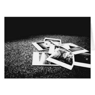 Memórias Cartão Comemorativo