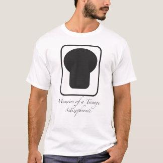 Memórias de um esquizofrénico adolescente camisetas