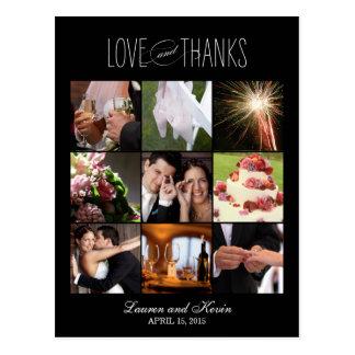 Memórias doces que Wedding cartões de Cartão Postal