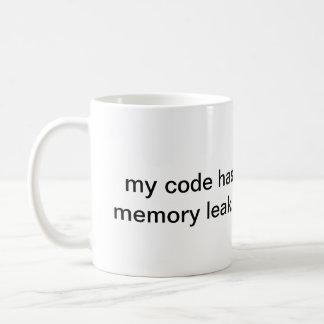 memory leak - caneca