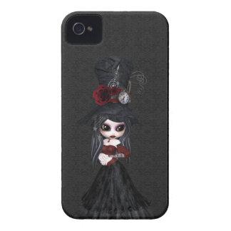 Menina bonito Blackberry do gótico de Steampunk Capa Para iPhone